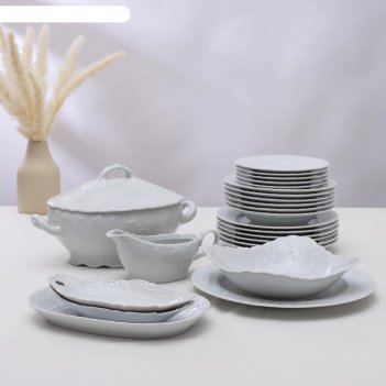 Сервиз столовый cmielow rococo, 25 предметов