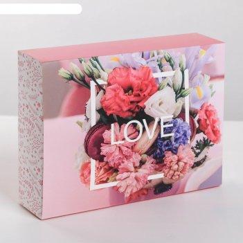 Коробка для сладостей love , 20 x 15 x 5 см