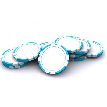 Покерные фишки blank 14 гр и 16 гр без номинала