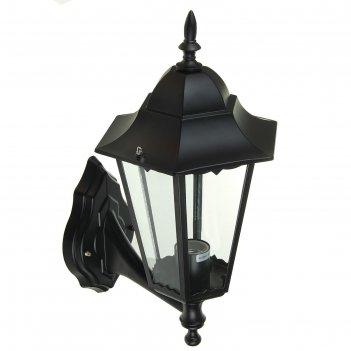 Светильник tdm 6100-01 садово-парковый шестигранник, 100вт, вверх, черный