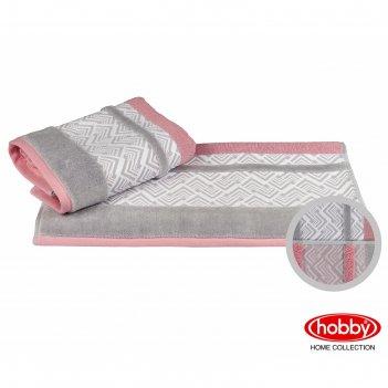 Полотенце nazende, размер 50 x 90 см, розовый