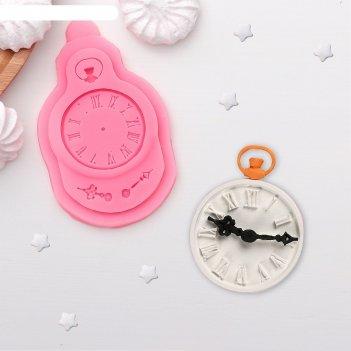 Молд силиконовый «часы», 11x7 см