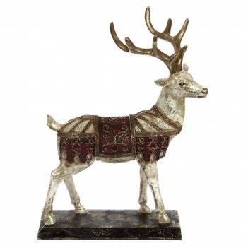 Фигурка декоративная олень, l22 w10 h28 см