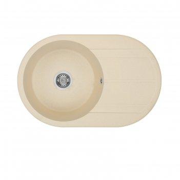 Мойка кухонная «акватон амира» 500х780х211 мм, цвет шампань 1a712932ai290