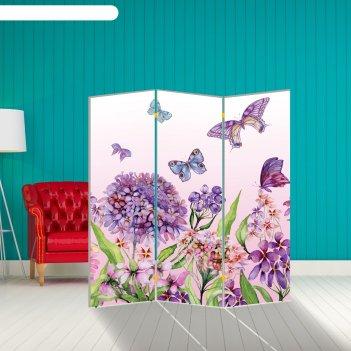 Ширма бабочка. декор 9, 160 x 150 см