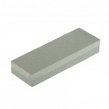 Брусок абразивный tundra, двухсторонний р120/240, 150 мм
