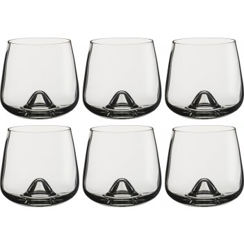 Набор стаканов для виски из 6 шт. islands 310 мл. высота=9 см. (кор=8набор