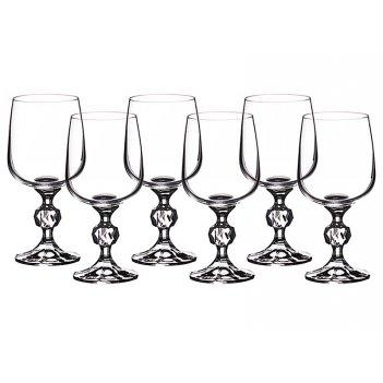 Набор бокалов для вина из 6 шт. клаудия 230 мл.