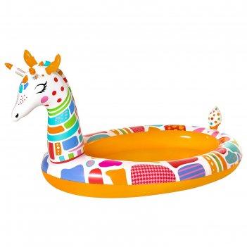 Игровой бассейн жираф 266 x 157 x 127 см, с брызгалкой 53089