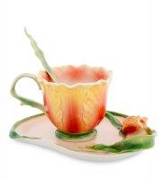 Fm-01/ 1 чайная пара тюльпан (pavone)