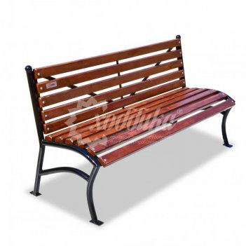 Скамейка «бриз» без подлокотников 1,5 м