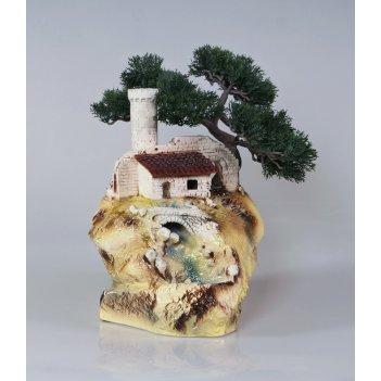Настольный фонтан «сторожевая башня»