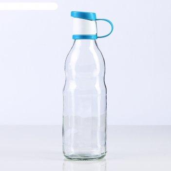 Бутылка 500 мл зен, цвета микс