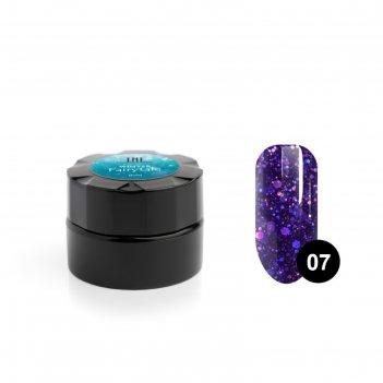 Гель для дизайна ногтей tnl winter fairytale №7 бал маскарад, 6 мл