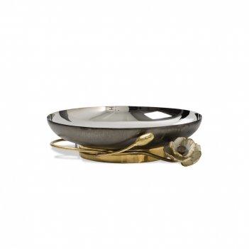 Чаша «анемоны», диаметр: 23 см, материал: нержавеющая сталь, латунь, серия