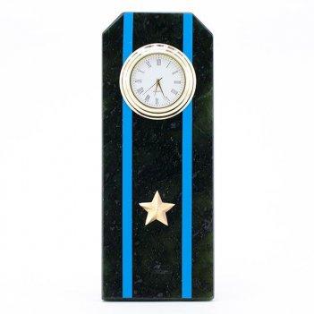 Часы погон майор авиации вмф камень змеевик