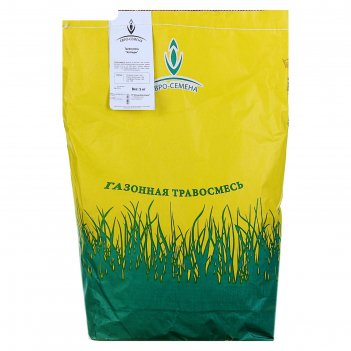 Семена газонная травосмесь котедж эконом серия, 5 кг