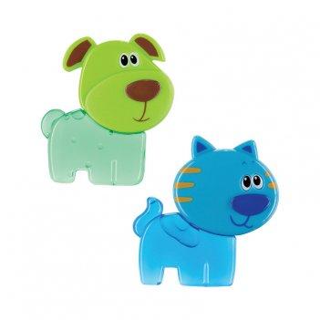 Chilly pets игрушка-прорезыватель с гелем возраст: от 3 месяцев