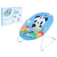 Детское кресло-качалка панда, ремень безопасности