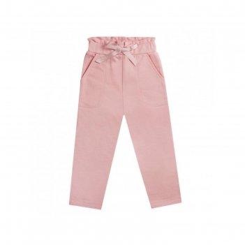 Брюки для девочки, рост 128 см, цвет розовый