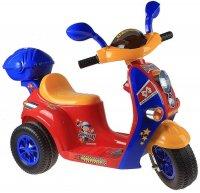 Электромобиль скутер, акб-1х6v800ma, 1 мотор 15-18w, световые и звуковые э