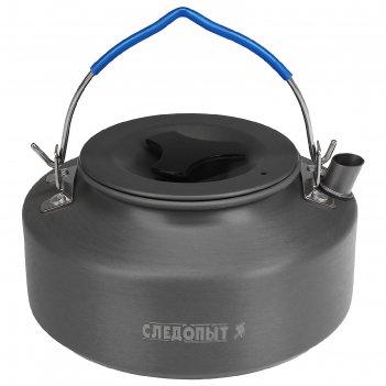 Чайник костровой следопыт, 1,0 л, с анодированным покрытием