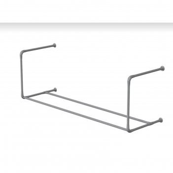 Консоль для фитболов  2 метра (1 уровень), цвет серый