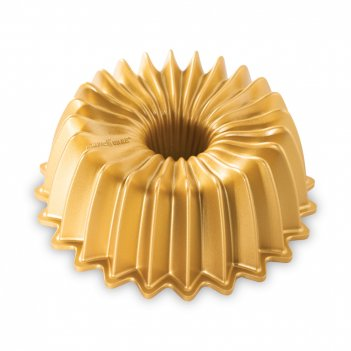 Форма для выпечки «блеск», объем: 1,2 л, материал: алюминий, цвет: золотис