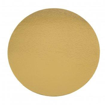 Подложка 30 см, золото-серебро, 0,8 мм
