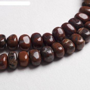 Бусины галтовка кукуруза яшма (34 бусины)