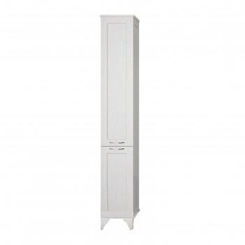 Шкаф-колонна акватон леон н (дуб белый) (1a187903lbps0)