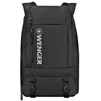 Рюкзак wenger, черный, полиэстер, 33x21x50 см, 28л
