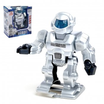 Робот космический воин, световые и звуковые эффекты, ходит