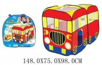 Палатка игровая автобус 148*75*98 см, сумка