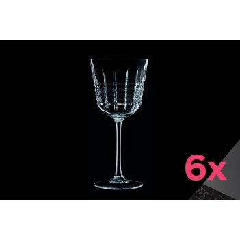 Набор из 6-ти бокалов для вина 250мл rendez-vous cristal d'arques