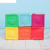 Резиновая игрушка умные кубики в1729