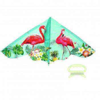 Воздушный змей фламинго