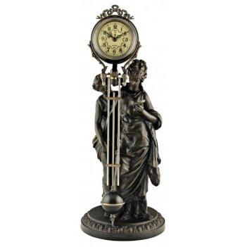 Скульптурные часы восток французская бронза br-3174
