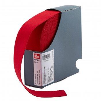 Эластичная лента-пояс 38мм*10м, цвет красный