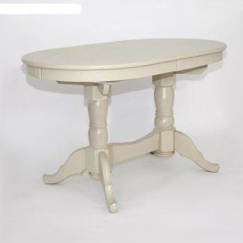 Стол раскладной презент, 1300/1700х800, слоновая кость
