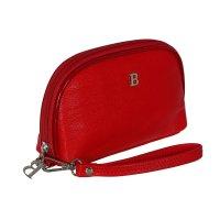 Косметичка п/овал, l-74-09, 17*2*12см, 4отд, н/карман, с ручкой, красный