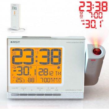 Проекционные часы c радиодатчиком meteo projection q764