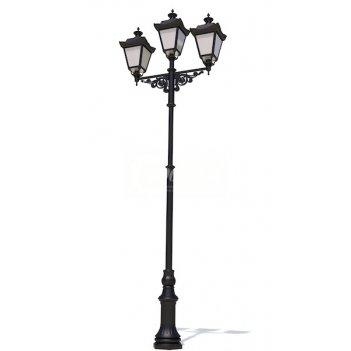 Фонарь уличный «адмирал - 3» со светильниками 4 м