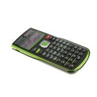 Калькулятор научный 10+2разр, 80*154*14мм, пит.от батарейки, зеленый sr270