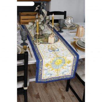 Дорожка на стол ренессанс 40*146 см, 100% хл, саржа 190 гр/м2