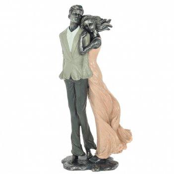 Фигурка декоративная влюбленная пара, l16 w10 h35 см
