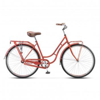Велосипед 28 stels navigator-320 lady, 2017, цвет красный, размер 19,5