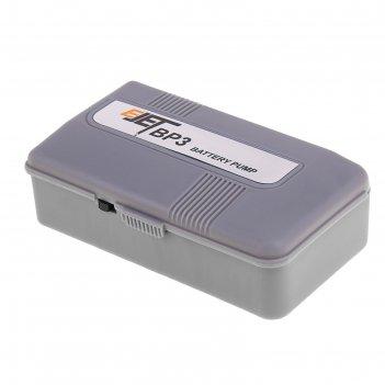 Компрессор аквариумный на батарейках,1.5 вольт, 1.6л./мин.  bp-3 (kw) bp-3