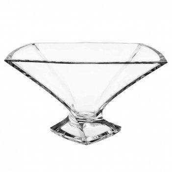 Конфетница crystalite bohemia quadro 22 см