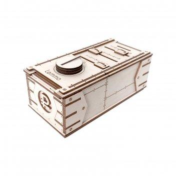 Деревянный конструктор «копилка-сейф»
